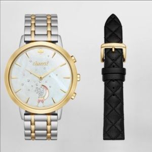 ♠️Kate Spade Metro Grand Hybrid watch- gift set